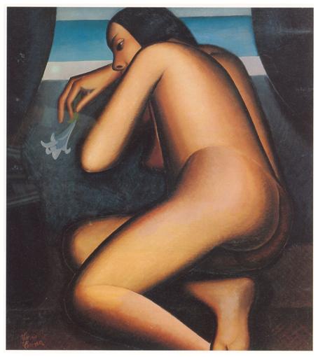 Nudo mistico, olio su tela, cm 74x65, 1931, collezione privata