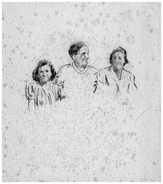 Ritratti, 1938-39, collezione privata