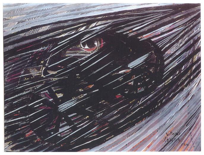 Dinamismo, tempera, 1922, collezione privata