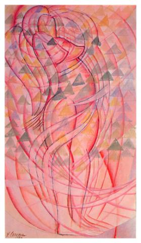 Isterismo, tempera, 1926, collezione privata