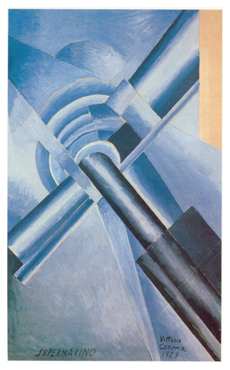 Supermarino, tempera, 1929, collezione privata